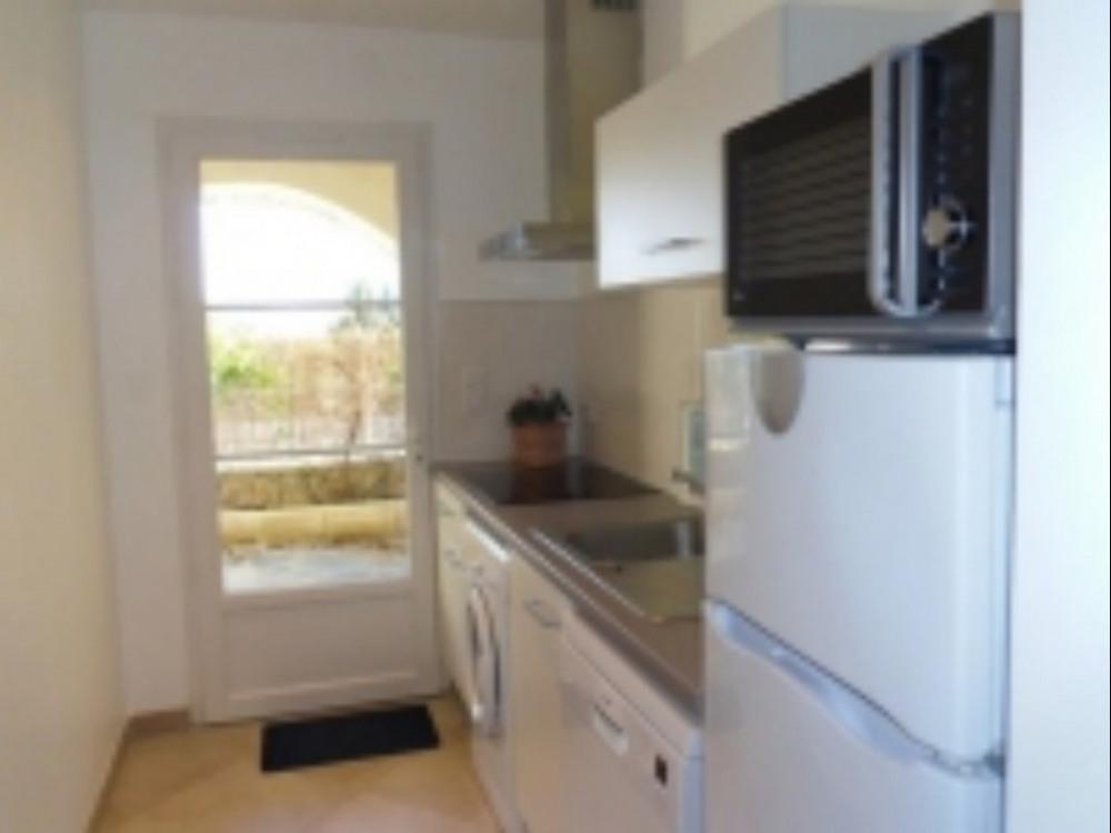 cuisine indépendante dans un appartement
