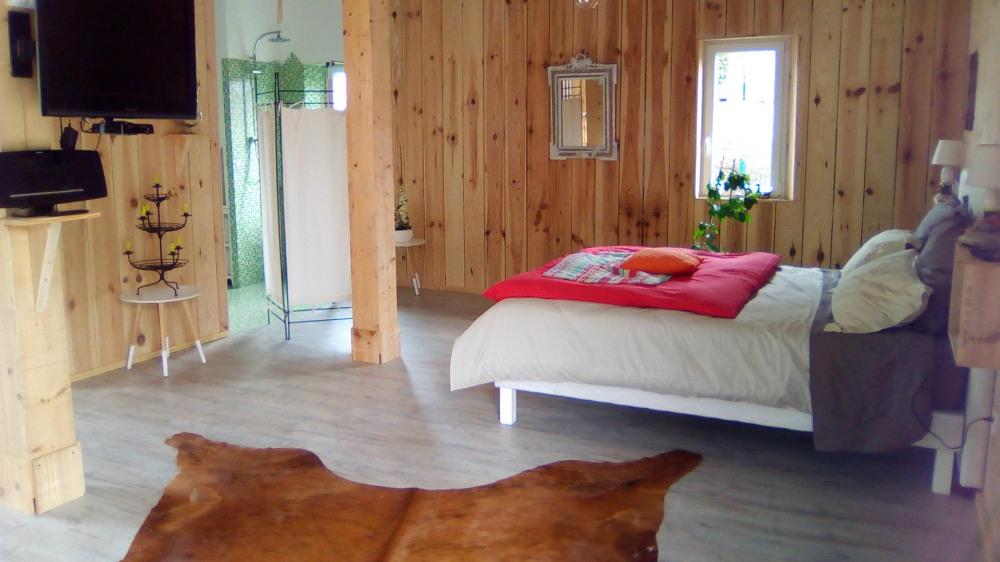 Location vacances Vielle-Saint-Girons -  Chambre d'hôtes - 2 personnes - Chaise longue - Photo N° 1