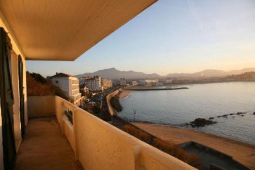 balcon, mer, montagne
