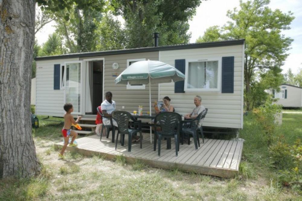 Camping Les Prés du Verdon 3* - Mh 2 ch 6 pers