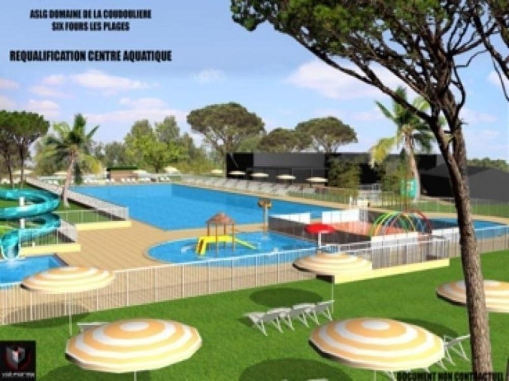 Appartement six fours les plages pour 4 personnes 35m2 for Horaire piscine six fours