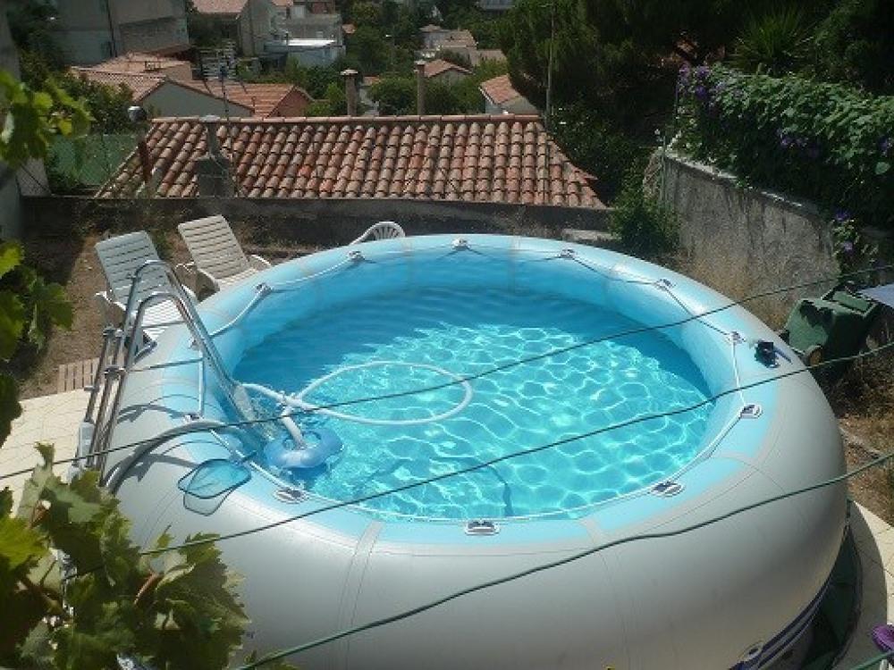 piscine à partager en option