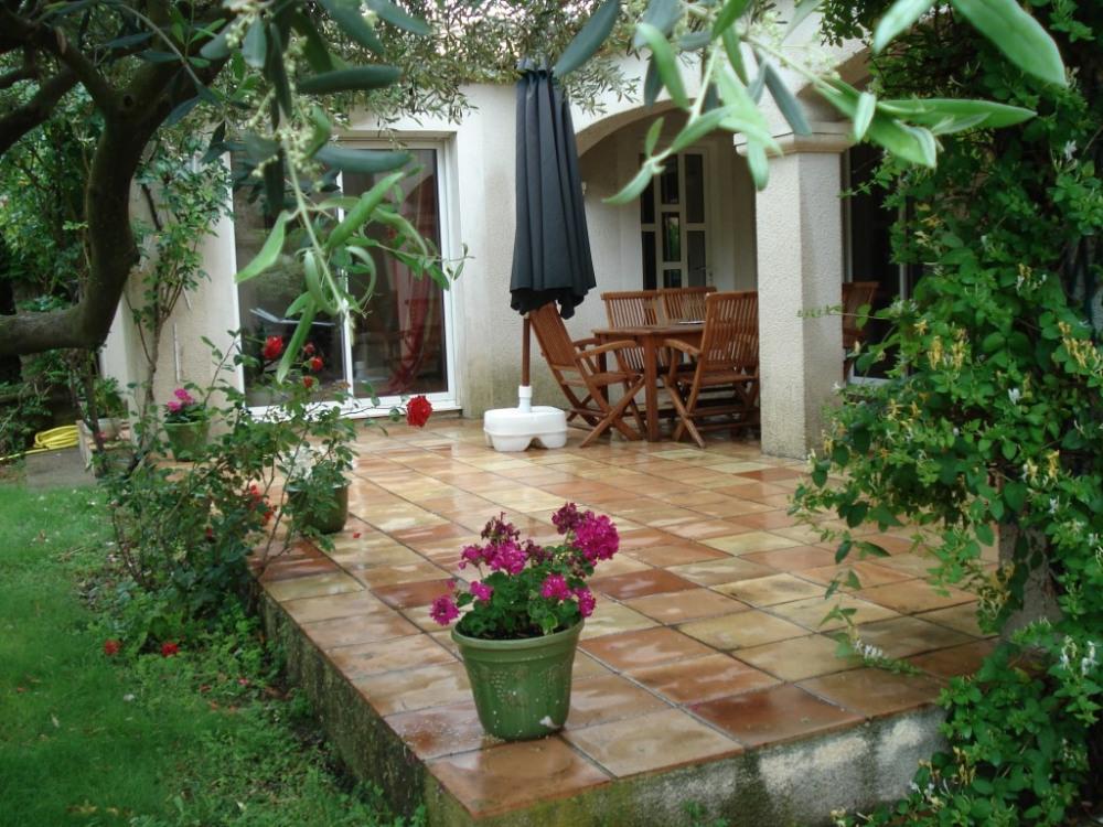 La terrasse sur jardin