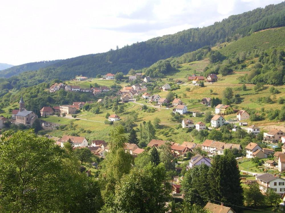 vue sur le village