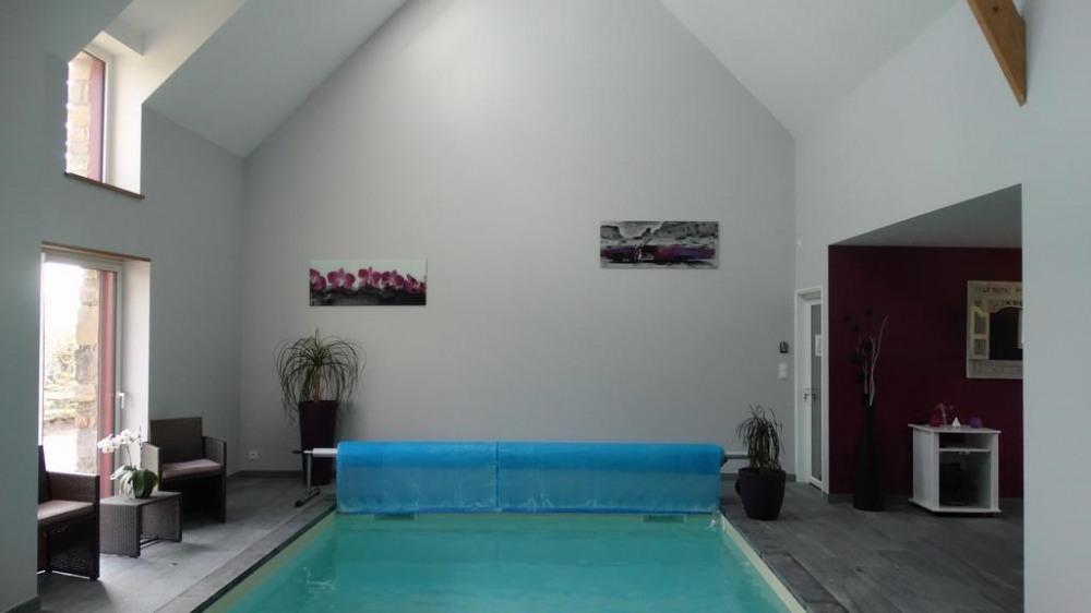 Maison pour 4 pers. avec piscine privée, Réminiac