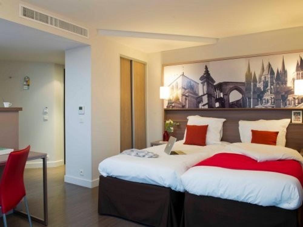 Adagio Aparthotel Caen Centre - Appartement Studio 2 personnes