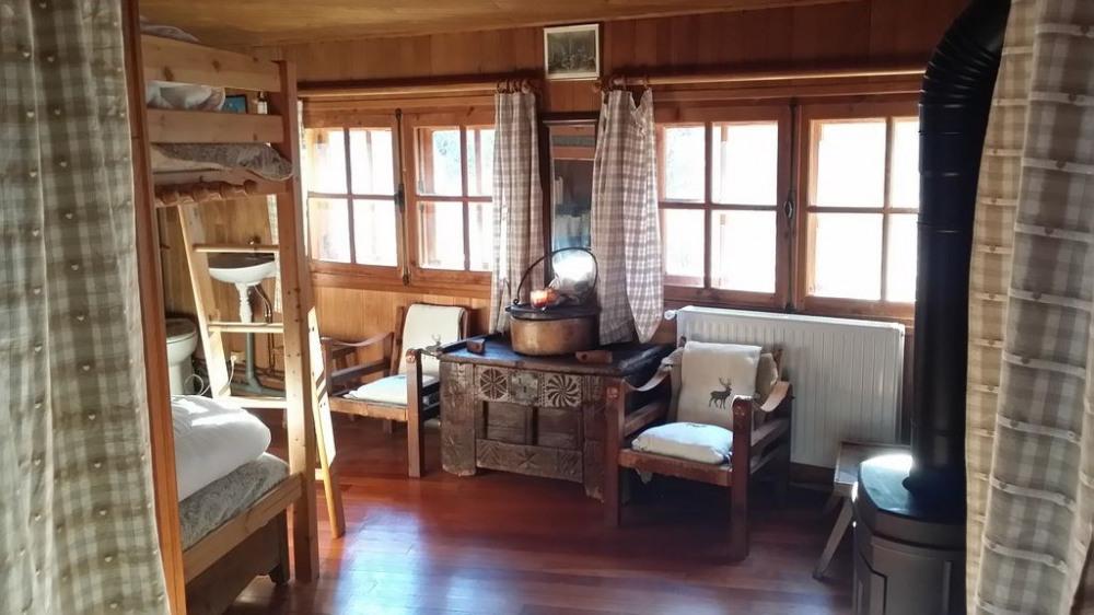 Chambre 1:1 lit en 140 +2 lits superposés de 90