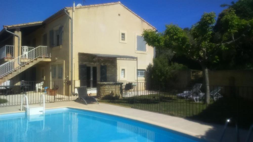 Appartement pour 4 pers. avec piscine, Beaumes-de-Venise