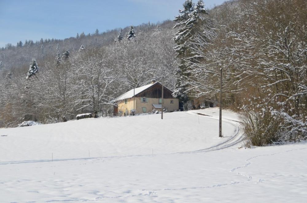 le gite sous la neige