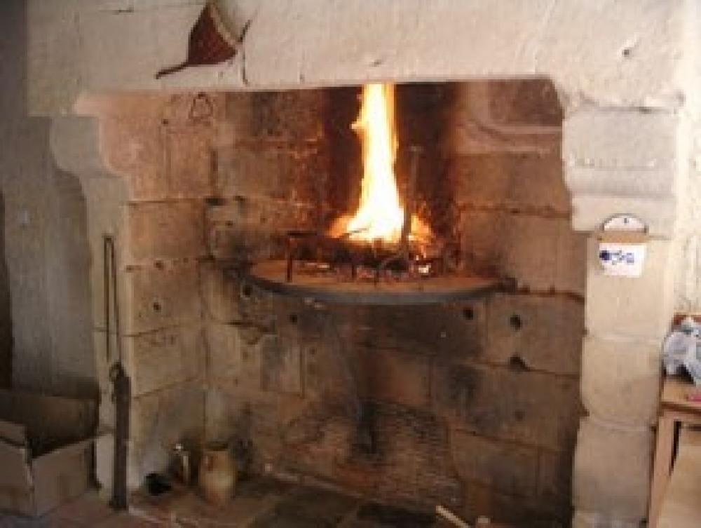 cheminée (bois fourni)
