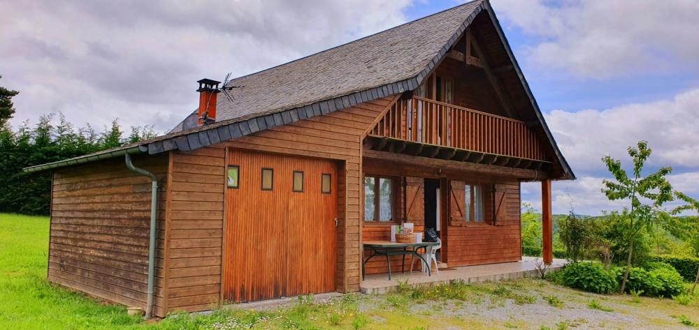 Location vacances Saint-Julien-près-Bort -  Maison - 6 personnes - Barbecue - Photo N° 1