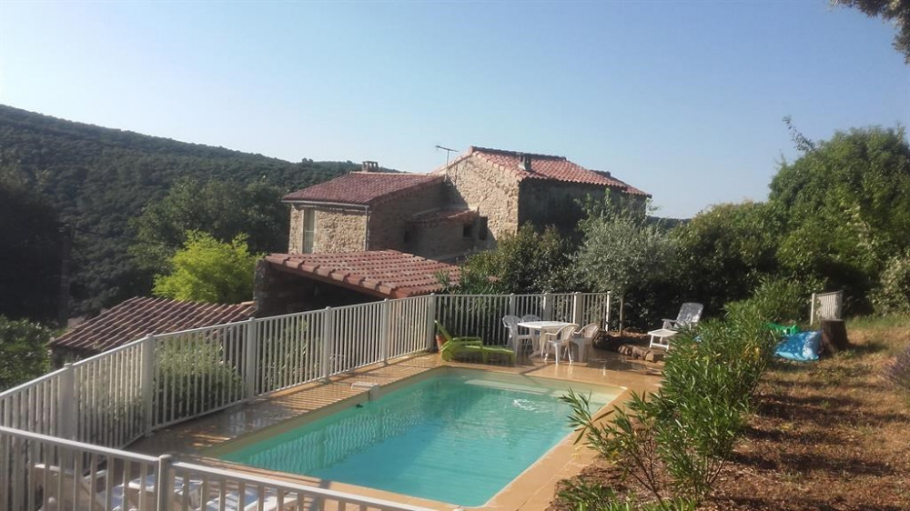 Holiday rentals Laval-Pradel - House - 8 persons - BBQ - Photo N° 1