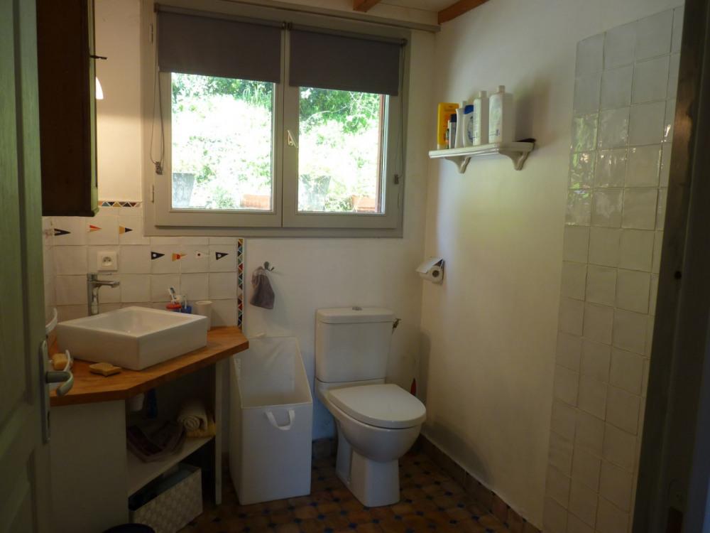 Douche italienne et wc