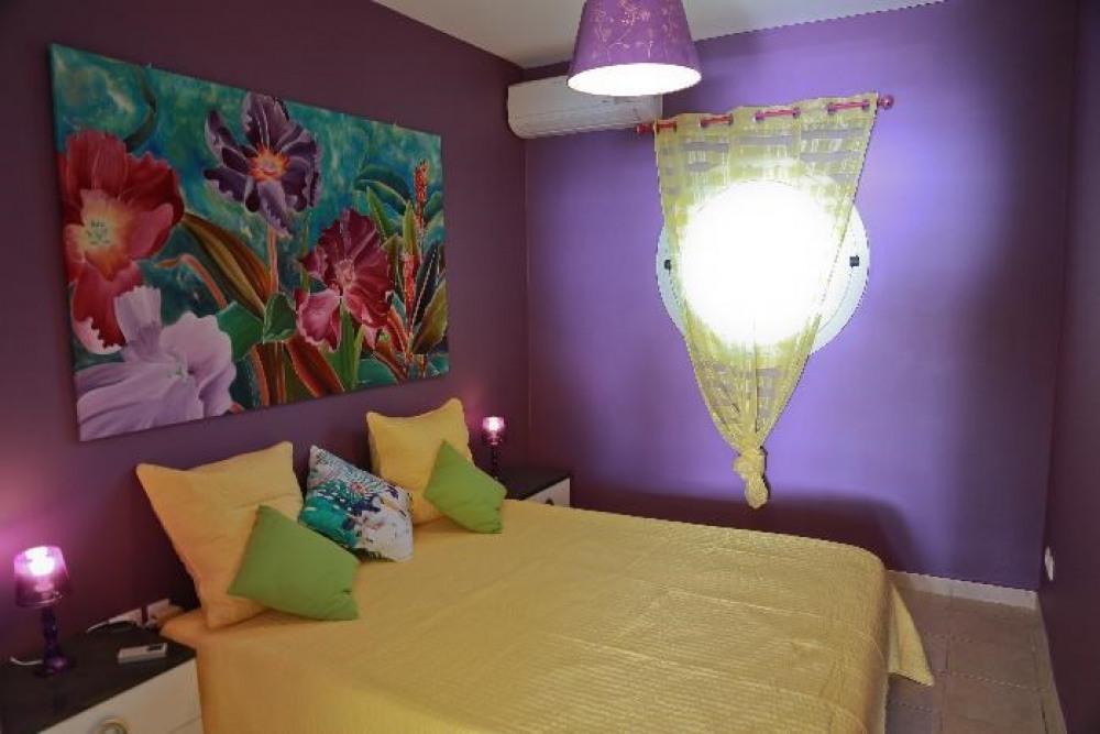 La chambre aux couleurs des Antilles