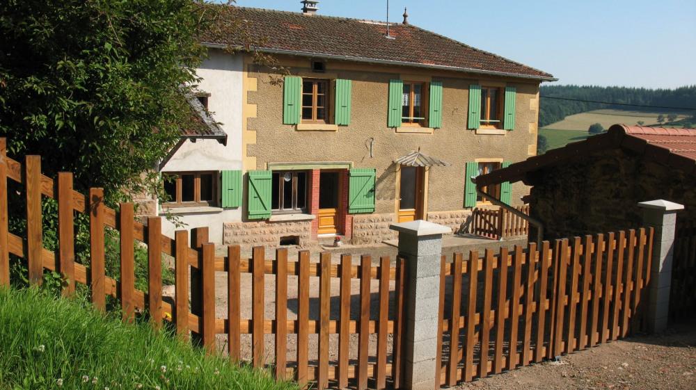 Ferienwohnungen Écoche - Hütte - 12 Personen - Grill - Foto Nr. 1