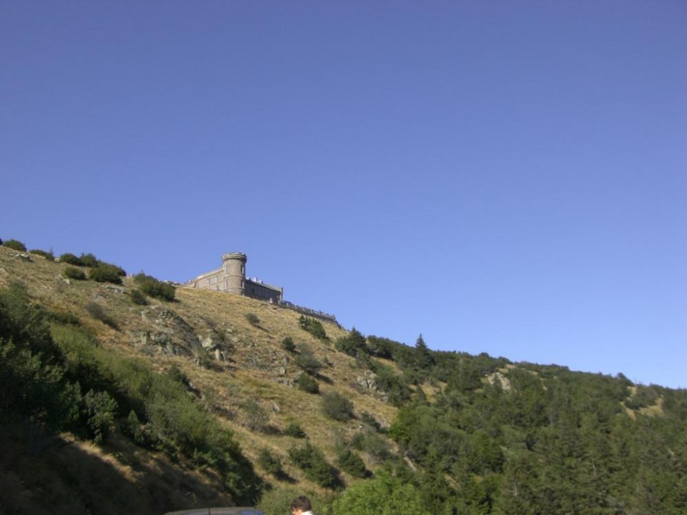 L'observatoire de l'Aigoual