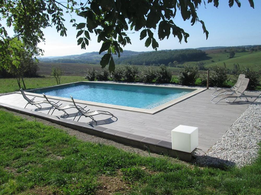 Maison de vacances de charme au calme avec piscine