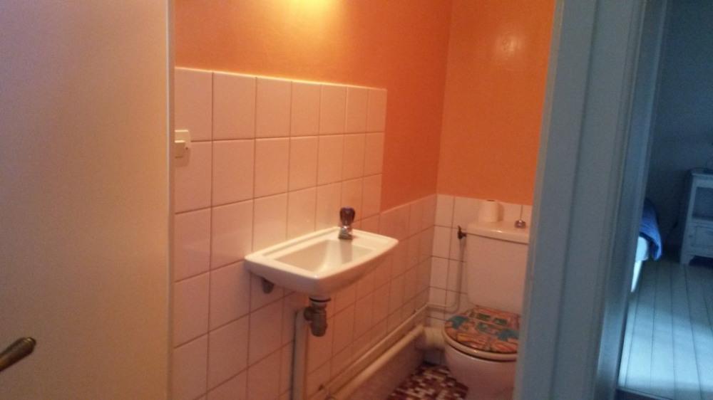 WC à l'étage