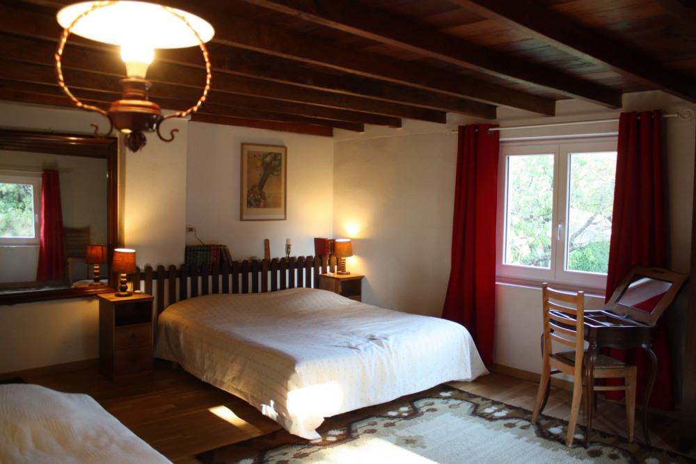 La chambre sud à 3 couchages