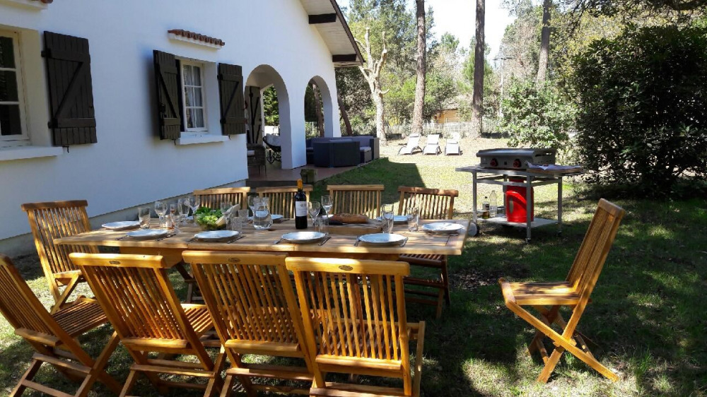 Location vacances Moliets-et-Maa -  Maison - 10 personnes - Barbecue - Photo N° 1