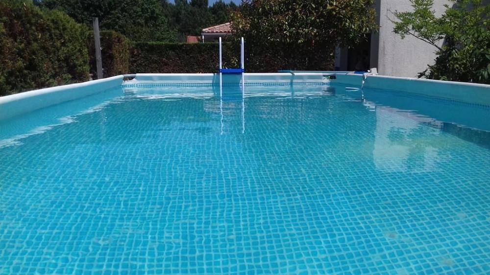 piscine hors sol 7.80 x 3.70