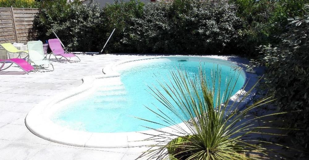 Villa pour 6 pers. avec piscine privée, Puissalicon