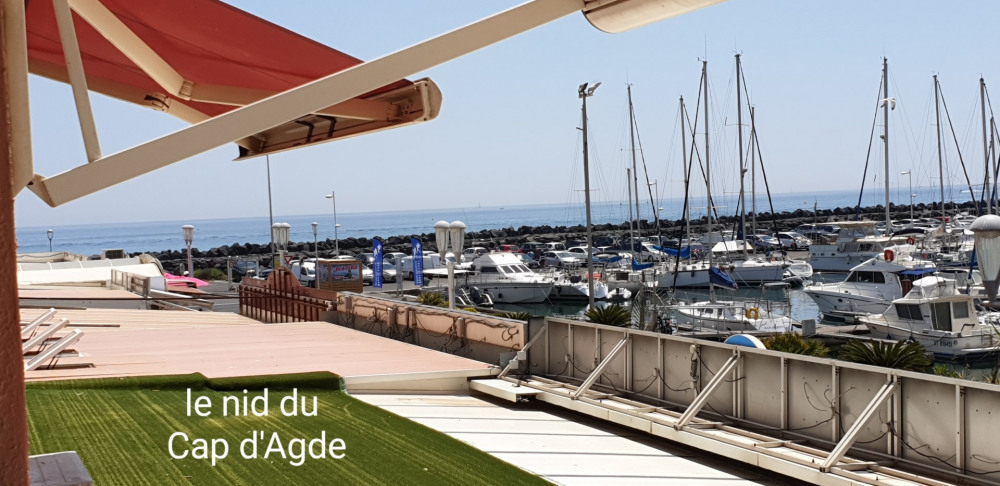 Location vacances Agde -  Appartement - 6 personnes - Court de tennis - Photo N° 1