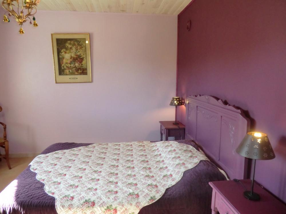 Chambre Prune du Tilleul