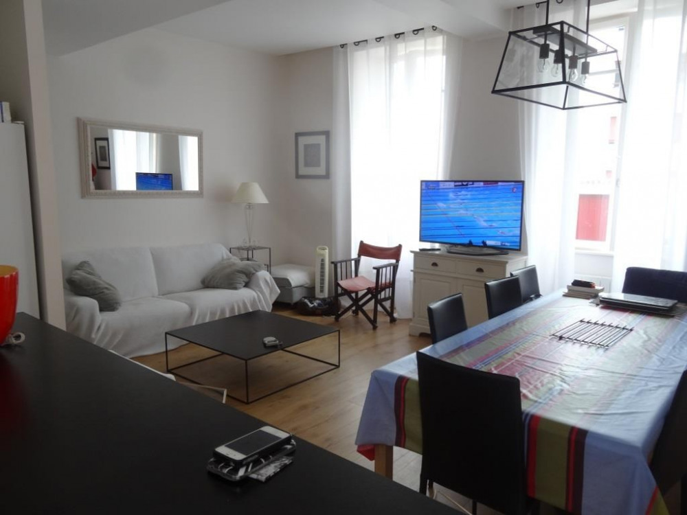 Villa Sévigné : la pièce de vie