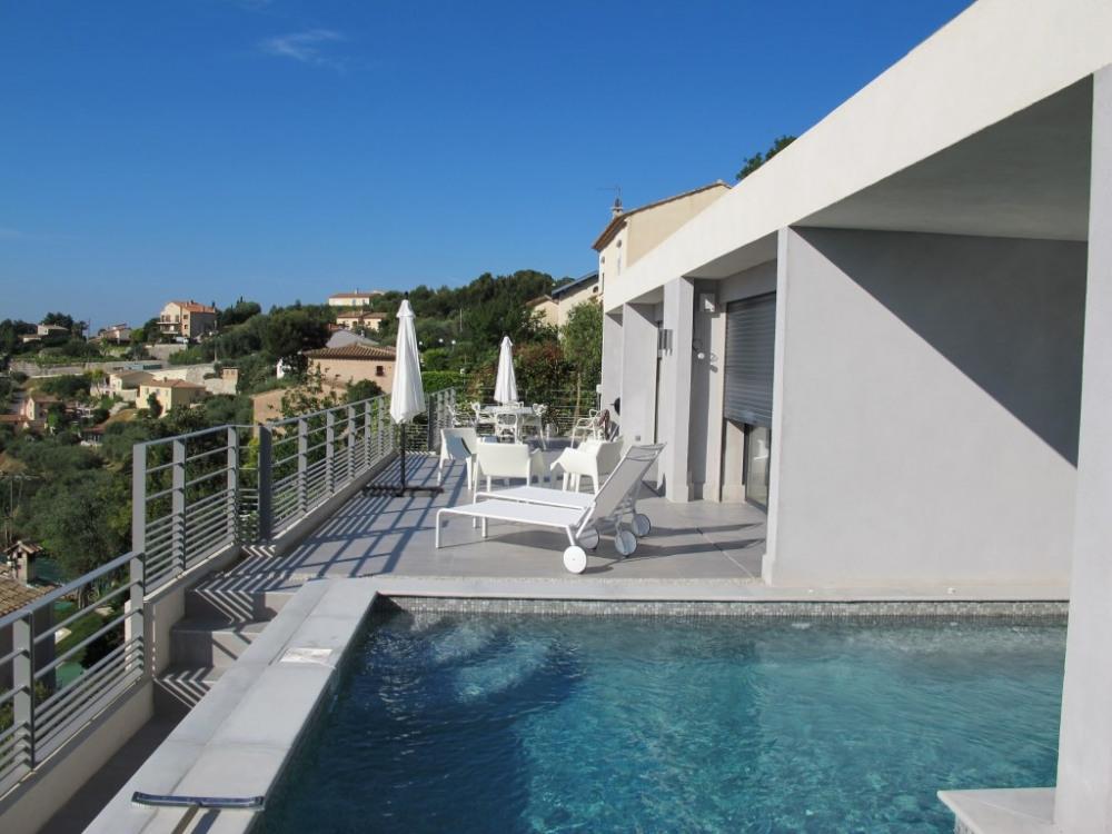 Terrasse piscine chauffée