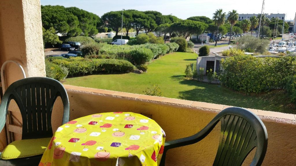Location vacances Cogolin -  Appartement - 3 personnes - Barbecue - Photo N° 1