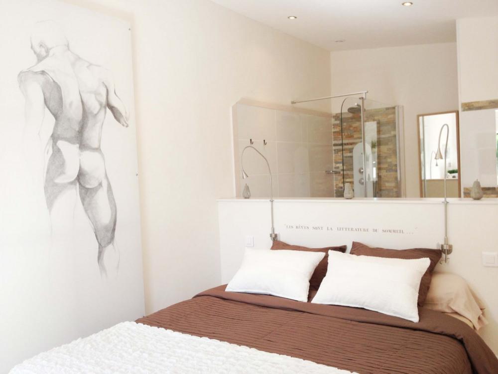 Chambre Ô Naturel à l'étage avec balcon - Royan - Charente maritime