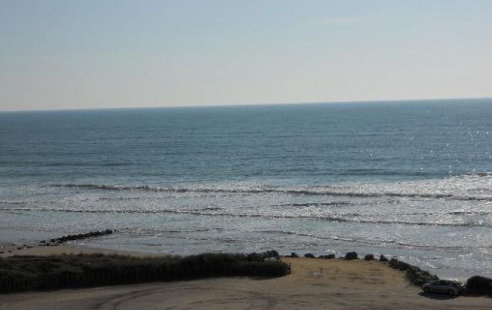 la vue sur la plage