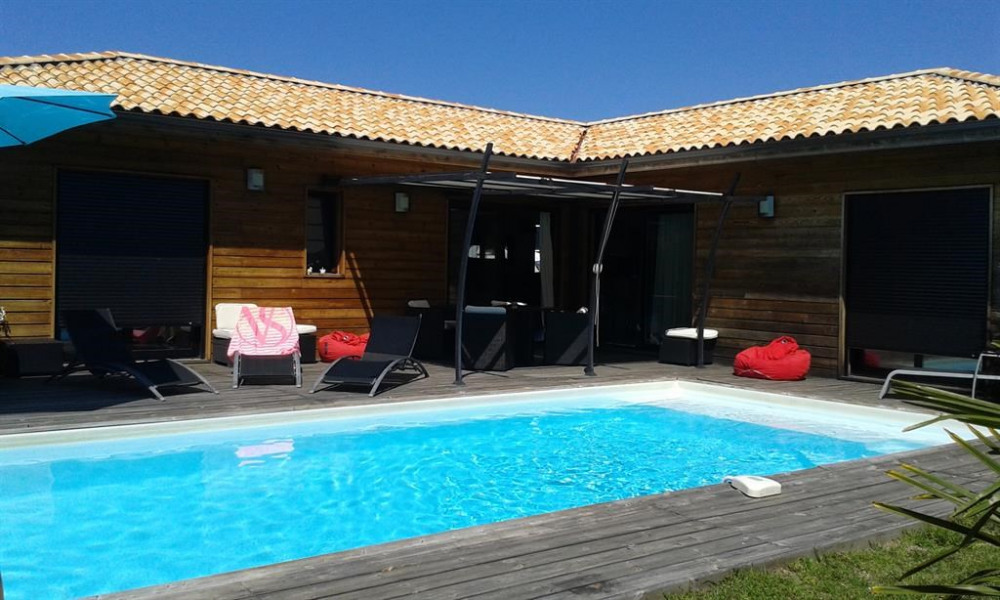 Location vacances Moliets-et-Maa -  Maison - 8 personnes - Barbecue - Photo N° 1