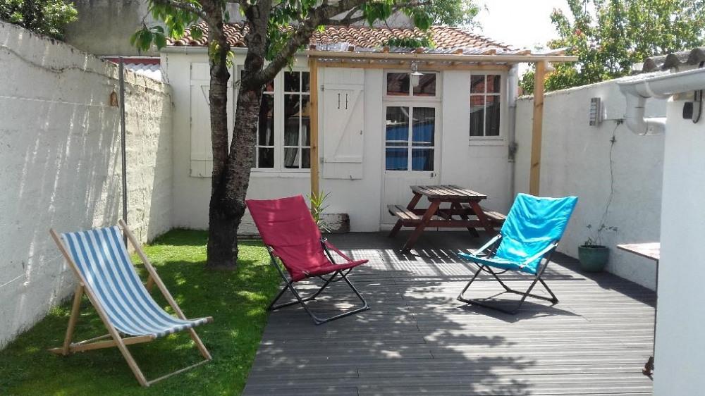 Villa Juliette côté jardin