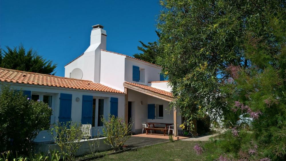Location vacances Noirmoutier-en-l'Île -  Maison - 7 personnes - Jardin - Photo N° 1