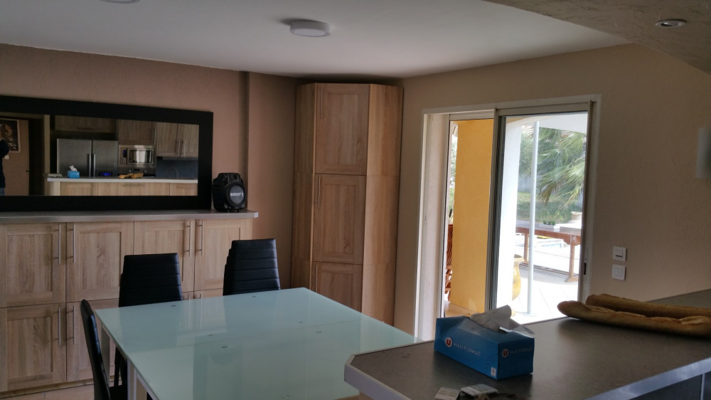 salle à manger modulable 2 grandes tables modulables