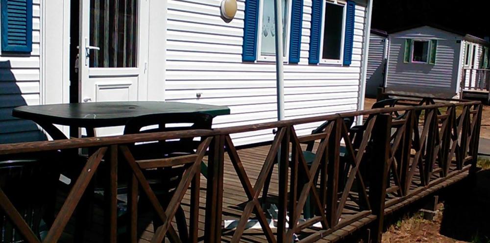 Location mobil home, camping La puerta del sol