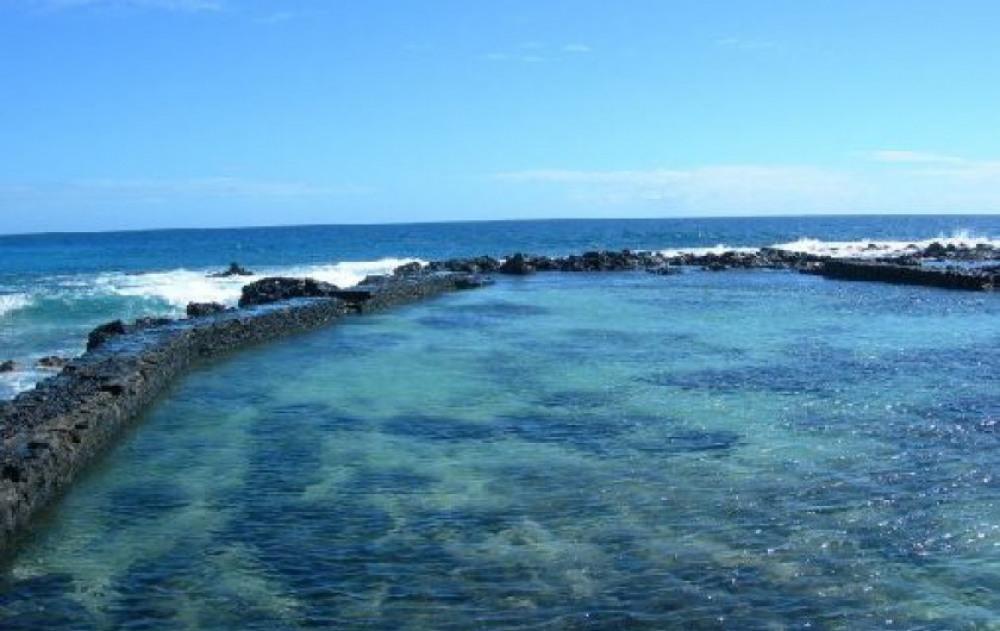 La piscine naturelle de Boucan canot
