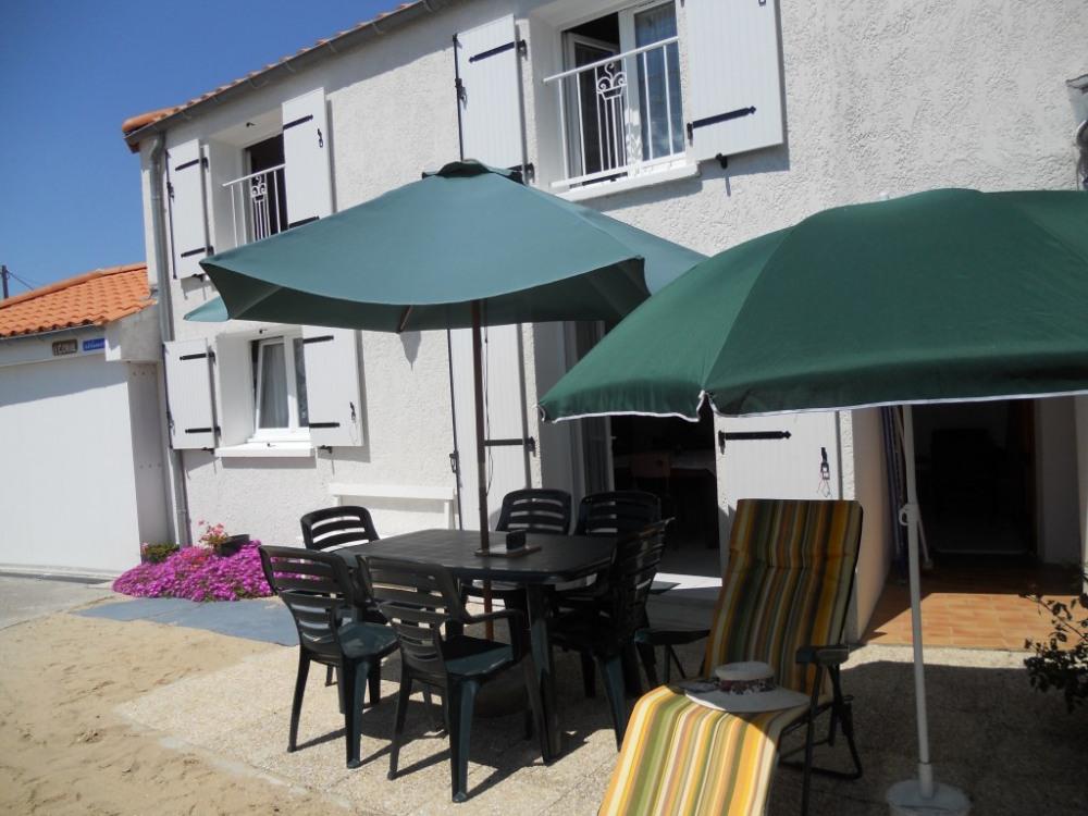 terrasse privée équipée