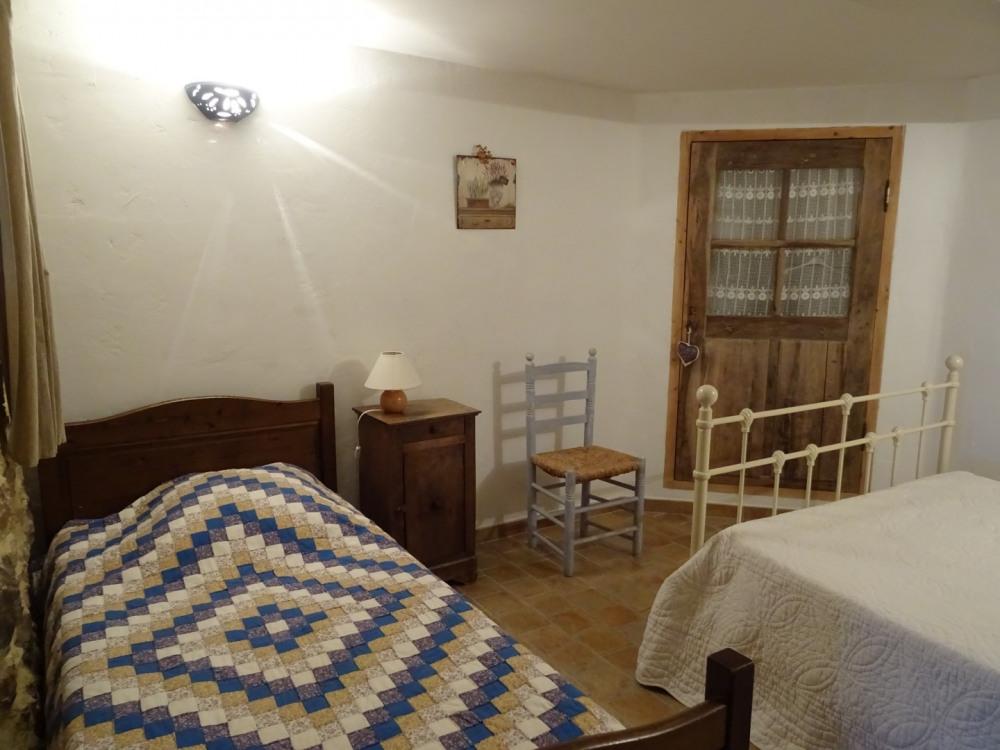 chambre 2 lit 1 place