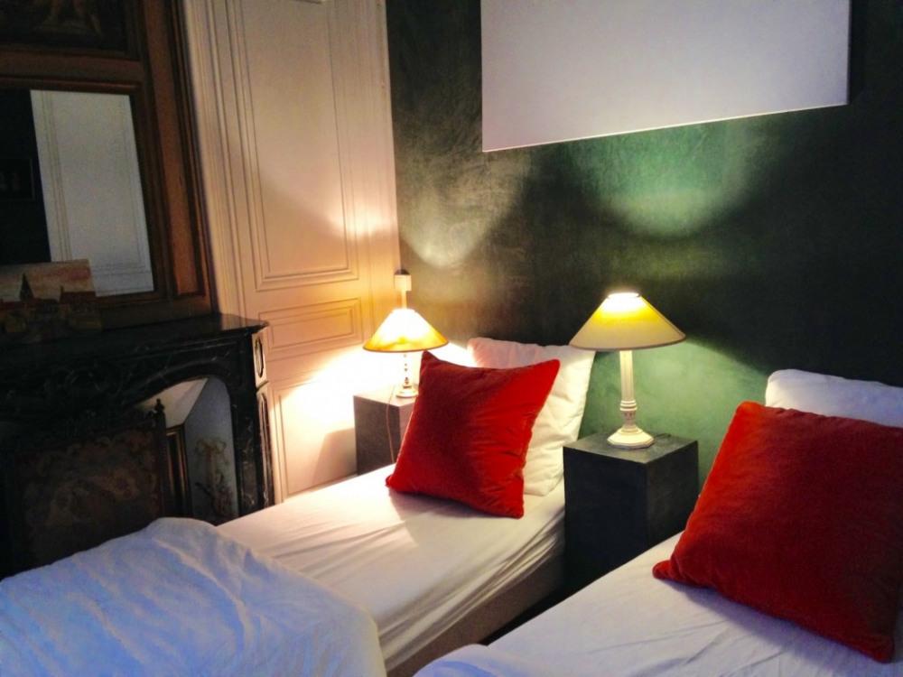 la petite chambre 2 lits indépendants