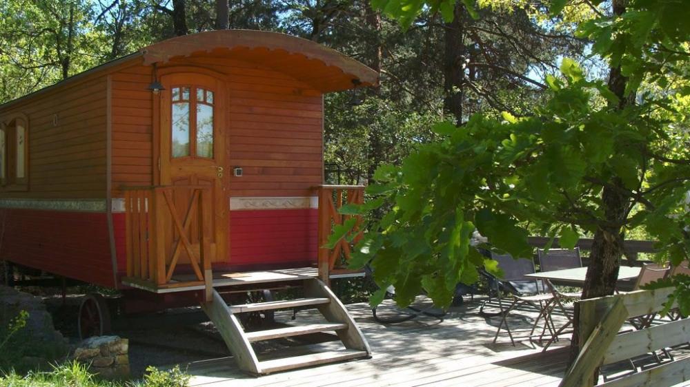 Location vacances Rivière-sur-Tarn -  Chambre d'hôtes - 6 personnes - Jardin - Photo N° 1