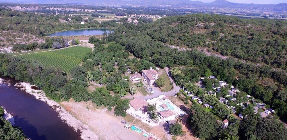 Camping Mazet-Plage, 88 emplacements, 50 locatifs