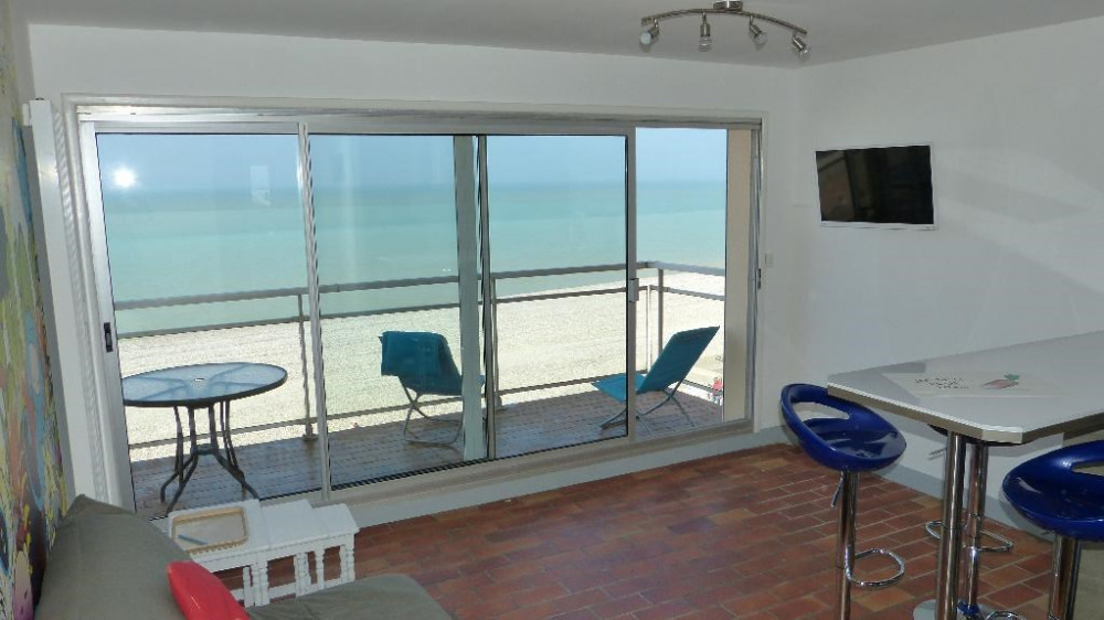 Holiday rentals Mers-les-Bains - Apartment - 2 persons - Deck chair - Photo N° 1