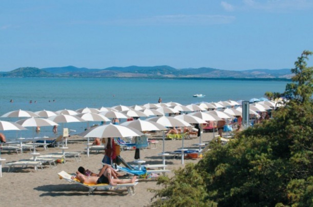 Camping Orbetello 3* - Mh 2 ch 6 pers - CLIM