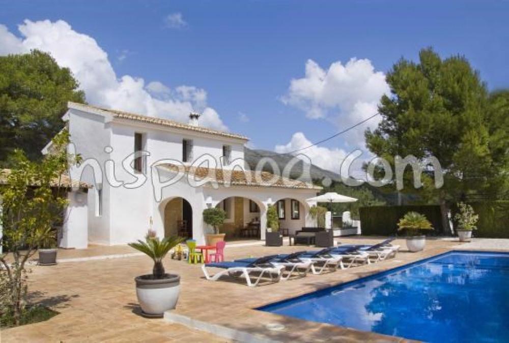 Location sur la Costa Blanca villa de vacances Benissa |gtlle