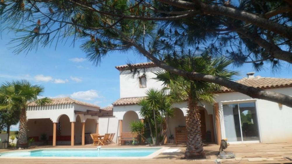 Villa pour 8 pers. avec piscine privée, Marseillan
