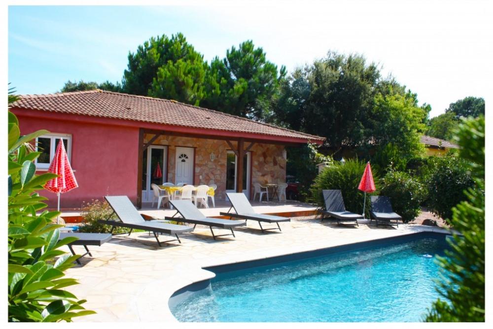 villa piscine privée a Porto Vecchio 6 personnes