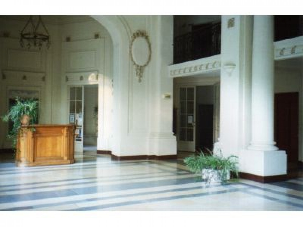le hall de la residence